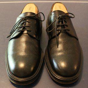 Martin Dingam Mens 8 1/2 Black Dress Shoes